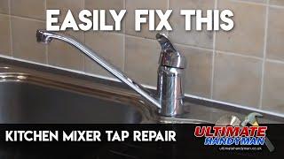 Kitchen mixer tap repair