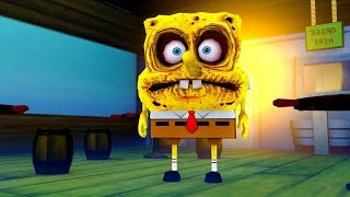 SCARIEST SPONGEBOB HORROR GAME! 3AM AT THE KRUSTY KRAB!