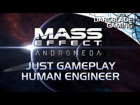 Human Engineer : Just Gameplay : Mass Effect Andromeda Multiplayer