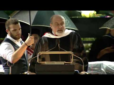 Taleb Delivers Commencement Speech at American University of Beirut 2016