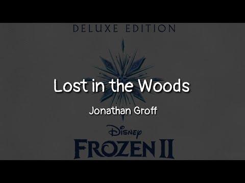 Jonathan Groff - Lost In The Woods (lyrics)