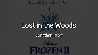 Gambar cover Jonathan Groff - Lost in the Woods (lyrics)