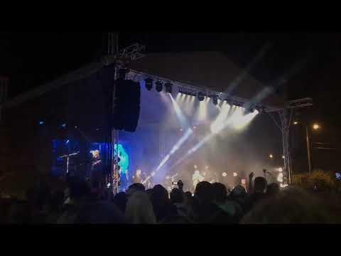Концерт на дне города в Клину