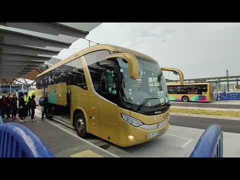 Full bus journey from Hong Kong to Macau via the Hong Kong Zhuhai Macao Bridge