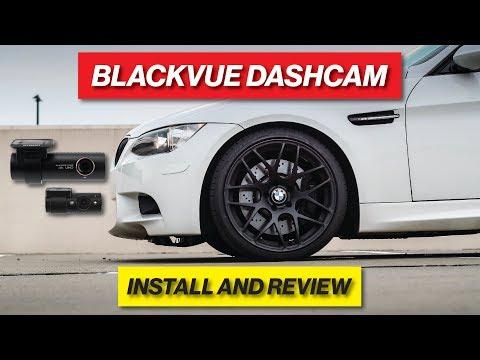 BLACKVUE DASHCAM INSTALL & REVIEW ON THE E90 M3!