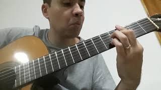 Marcelo S. M. interpreta o hino Sou Feliz (CC 398) no violão