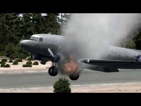 DC-3 First Flight (and first emergency landing)