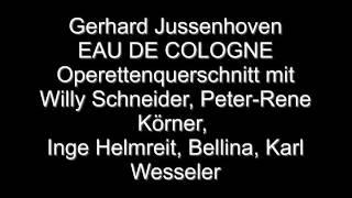 Eau de Cologne (Operettenquerschnitt)