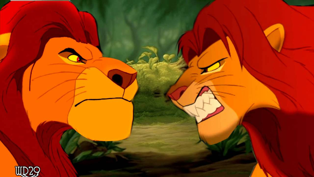 Simba And Mufasas Argument Voice Crossover