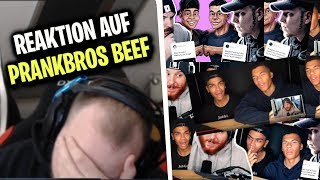 ELoTRiX reagiert auf PrankBros VS Monte & Unge Beef | ELoTRiX Livestream Highlights