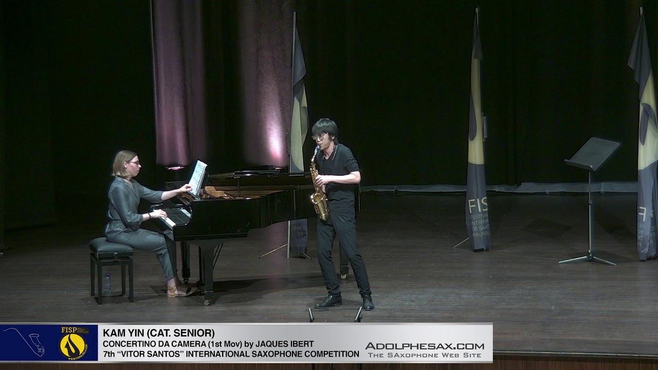 FIS Palmela 2019 - Kam Yin - Concertino da Camera by Jaques Ibert 1st Mov