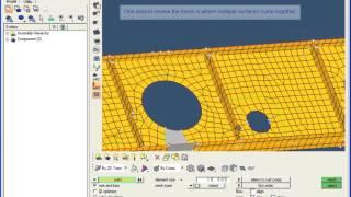 HyperMesh - mesh creation