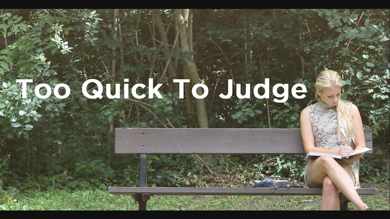 Too Quick To Judge Touching ShortFilm