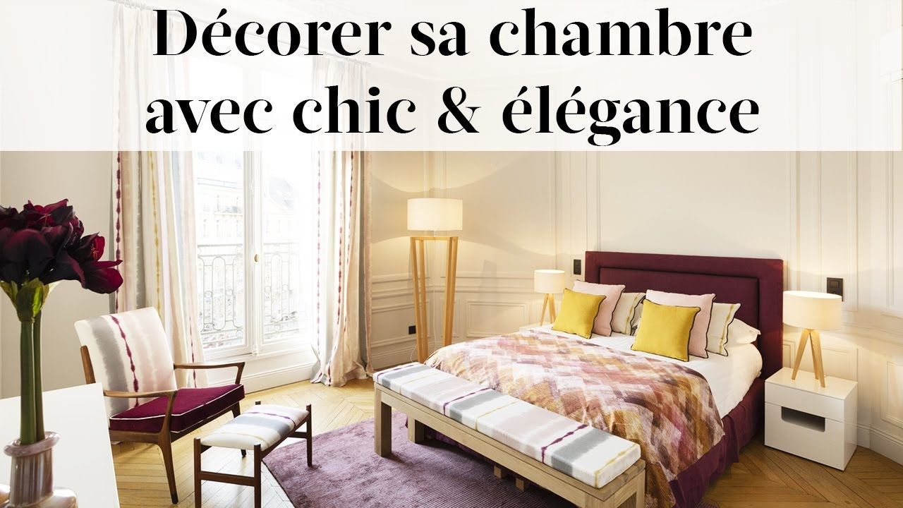comment d corer sa chambre avec l gance d coration chambre parentale youtube. Black Bedroom Furniture Sets. Home Design Ideas
