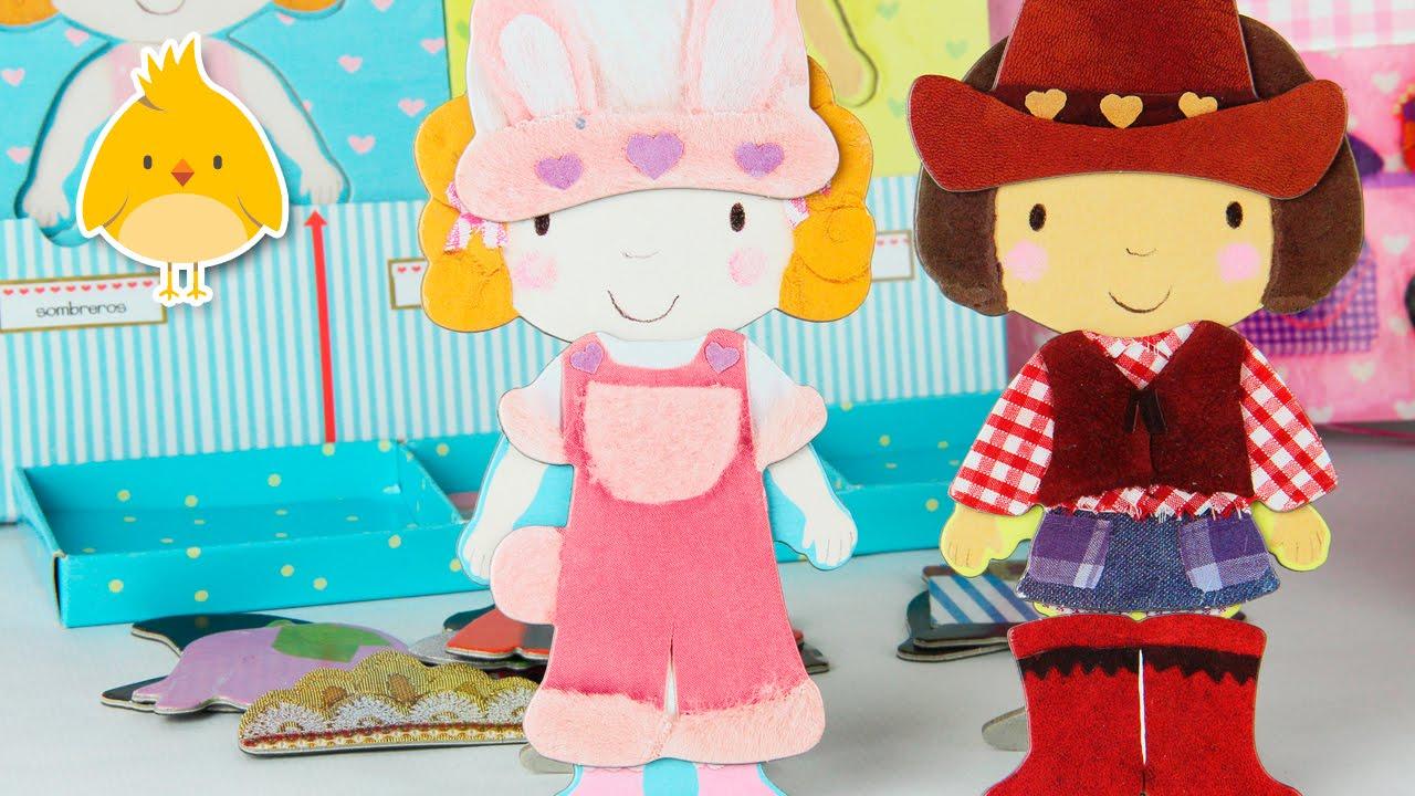 El Armario De Lili Y Lola Libro De Juegos Para Vestir A Las