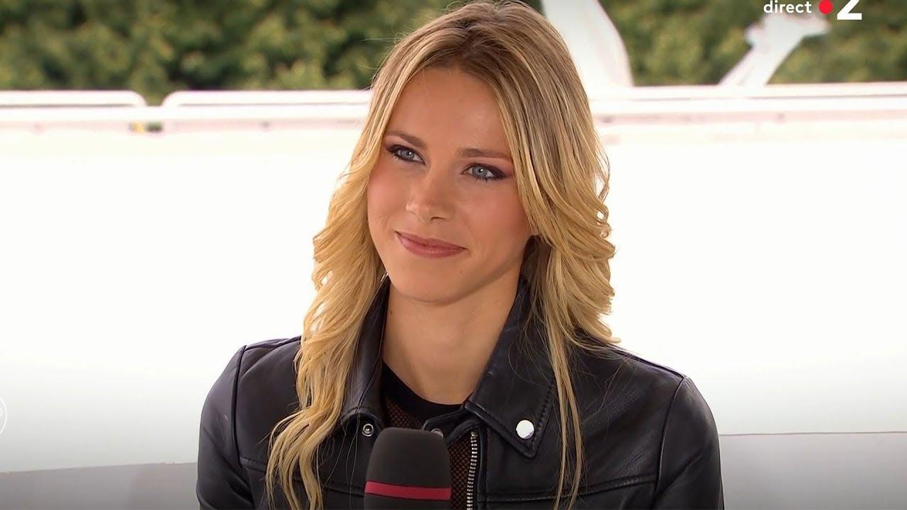 Marion Rousse Tv Presenter From France 28 07 2018 Youtube