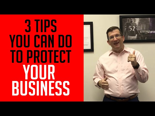 3 Tips You Can Do To Protect Your Business (2019) | Kyocera Intelligence