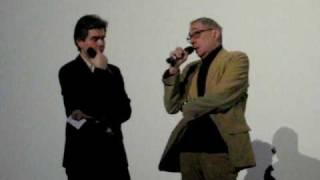 """André Téchiné Avant-première à Paris de """"La Fille du RER"""" le 17 mars 2009"""