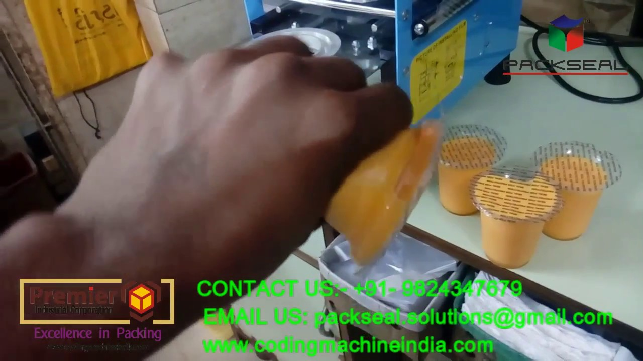 LASSI / DAHI GLASS PACKING MACHINE, JUICE PACKING MACHINE / POPCORN PACKING  MACHINE