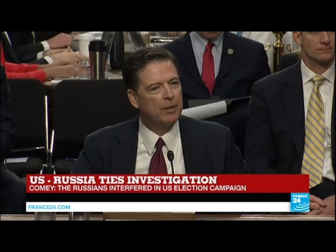 """Comey on Russia meddling in Election: """"That happened, it's very serious, this is about America!"""""""