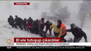 Muş'ta buzlanma kazaya yok açtı, 6 kişi hayatını kaybetti