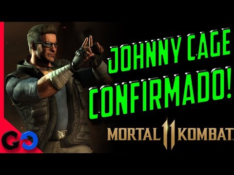 Mortal Kombat  Johnny Cage Confirmado!!