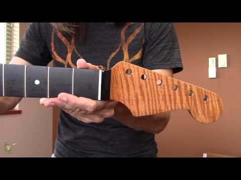 Flame Mahogany Stratocaster® Replacement Neck
