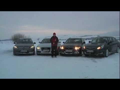 Audi vs. BMW vs. Mercedes vs. Subaru part 2