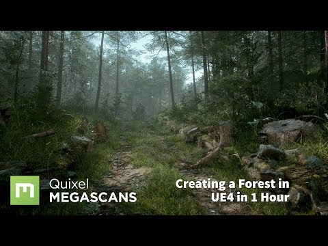 Create A Forest In UE4 In 1 Hour