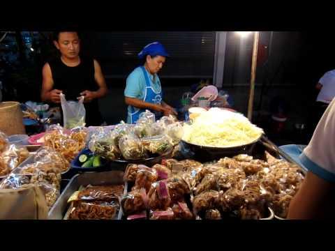 Mukdahan's Night Food Market