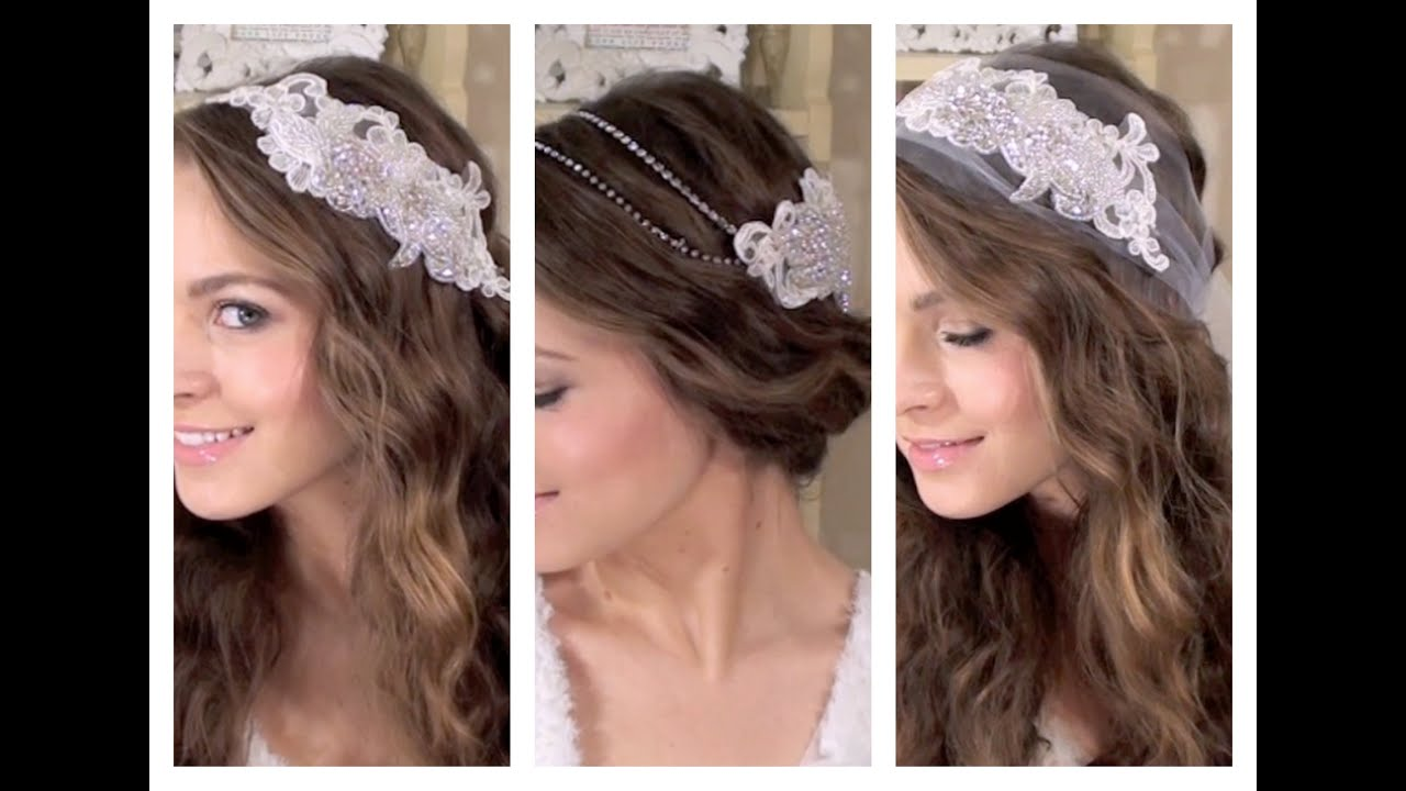 diy 3 boho bridal hair accessories - youtube