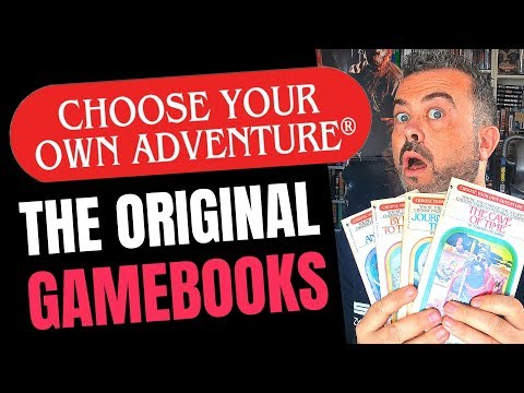 The first CHOOSE YOUR OWN ADVENTURE BOOKS, including The Mystery Of Chimney Rock