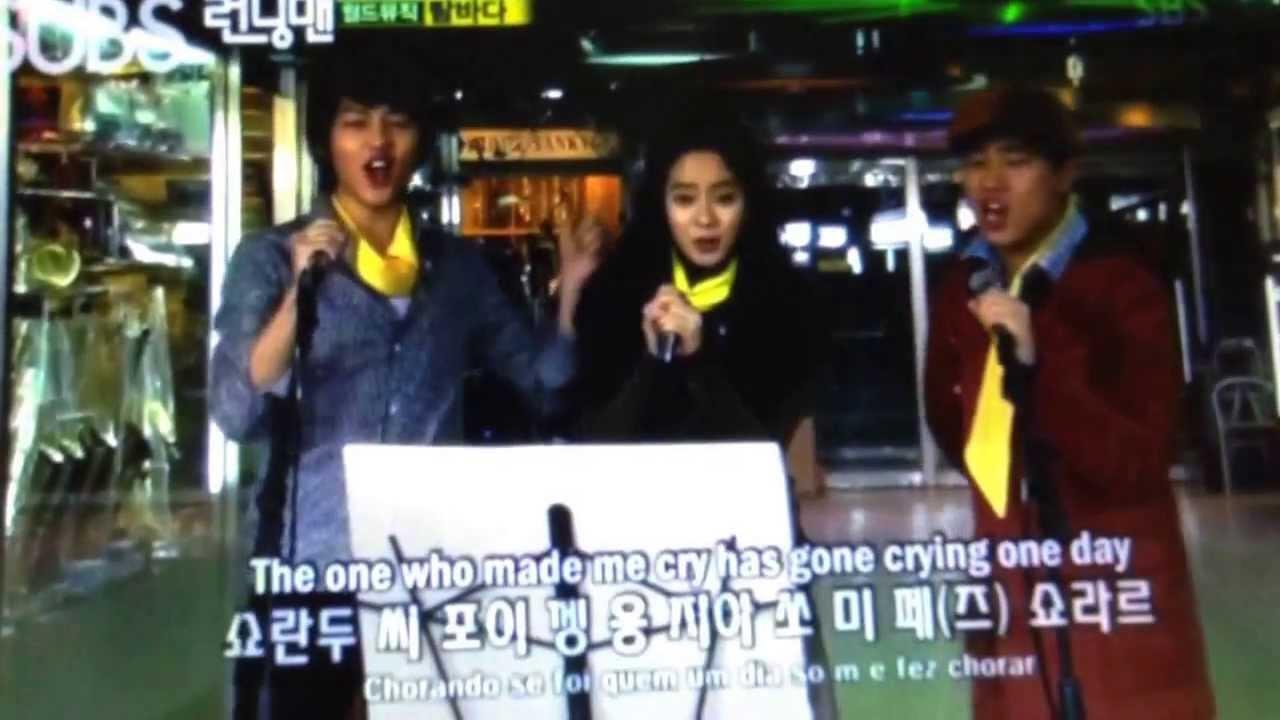 Running Man Ep 26: Running Man and Jung Jin Young Solo Brazil Song Lambada  Pt  2