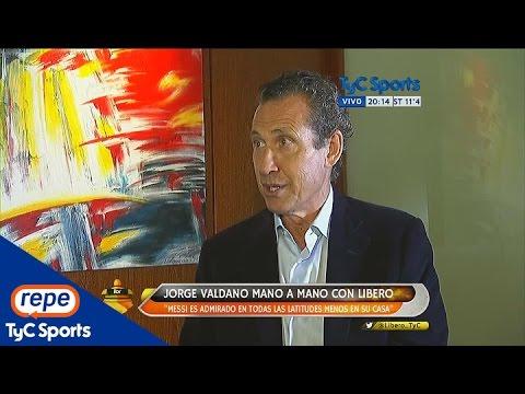 """Jorge Valdano: """"Los argentinos eligen lapidar a Messi"""""""