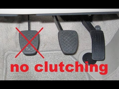 Driving without clutching