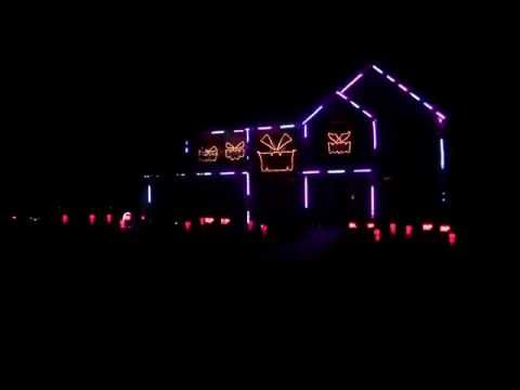 Halloween Light Show 2014 - All About That...
