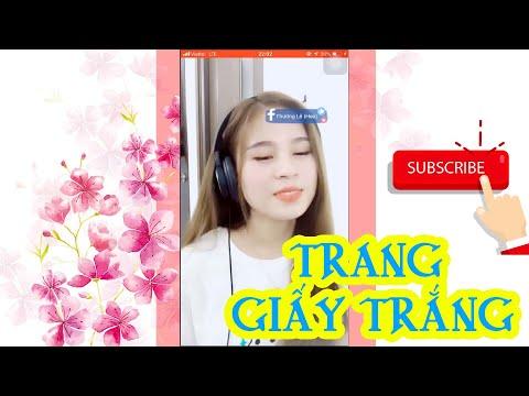Trang Giấy Trắng Remix-Thương Lê