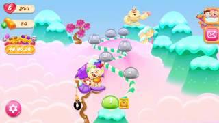 🍭🍬Candy crash jelly LV001 Прохождение, три в ряд, развивающая игра на андроид