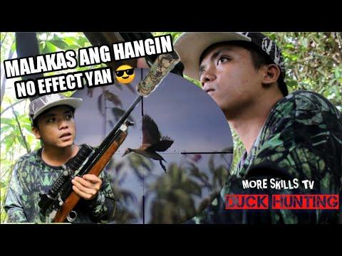 Hunting Wild bird   WILD DUCK Hunting in Philippines