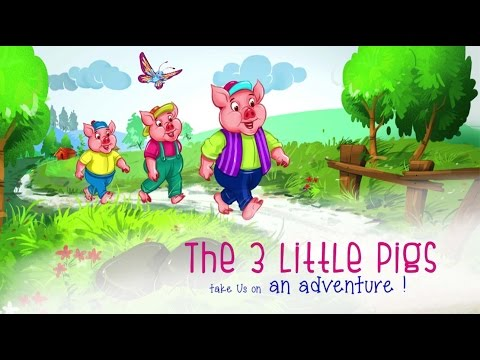 Three Little Pigs | Fairy Tale Stories | Bedtime Story for Kids | Nursery Rhymes for Children
