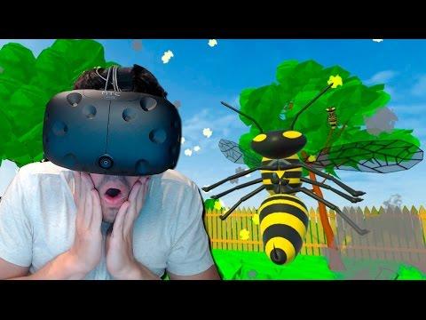 ODIO LOS INSECTOS!! Wasps (HTC Vive VR)