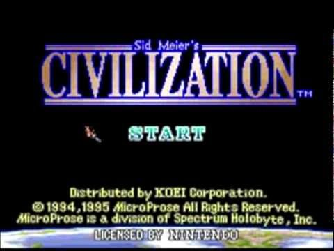 Civilization (SNES) 3. Strategy B.C. (4K HD)