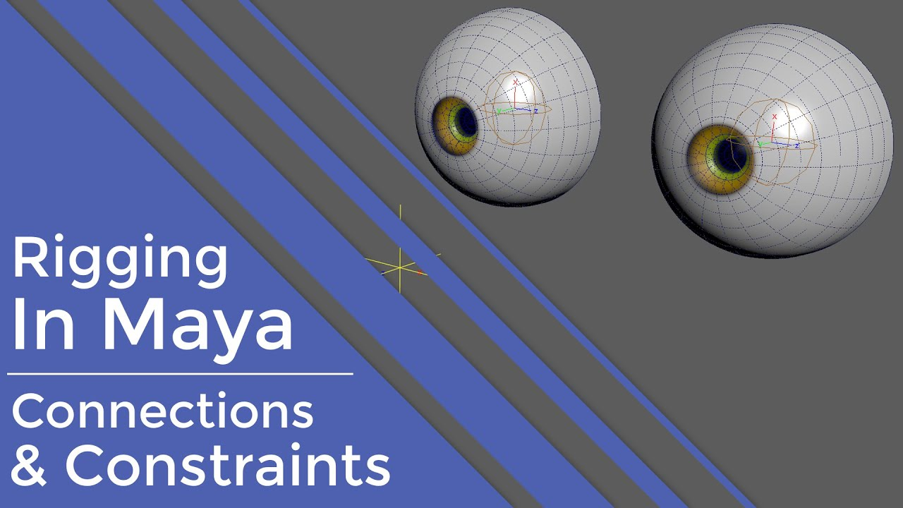 Rigging in Maya | Fundamentals | Connections & Constraints