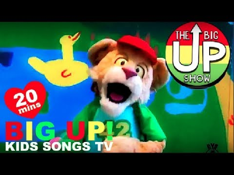 [NEW!] The Animal Song! + More Fun Children's Sing Along Music   BIG UP Kid TV!