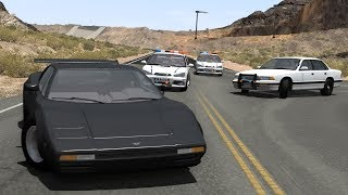 POLICE CHASES #12 - Crashes & Fails/Busted Compilation - BeamNG Drive