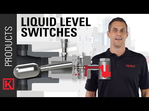 How a Kimray Pneumatic Liquid Level Switch Operates - YouTube