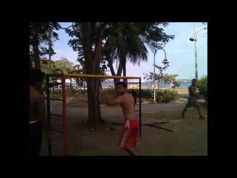 """STREET WORKOUT"" CARTAGENA - BOCAGRANDE- 2014"