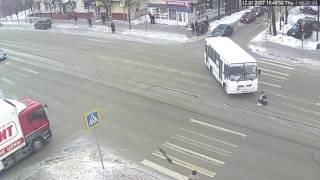 Сбили пешехода ДТП 12.01.2017 Тверь