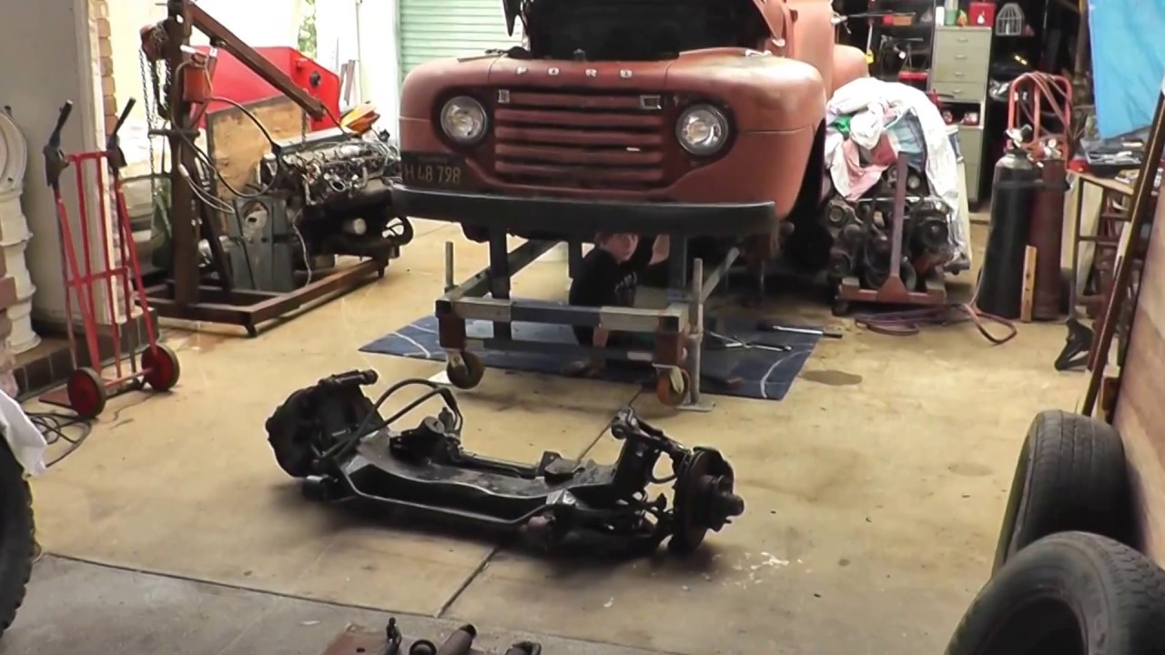 Ford F1 Truck Project Part 6 Youtube
