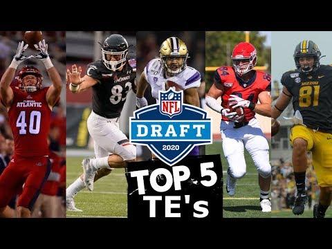 2020 NFL Draft Prospect Rankings: Tight End | Blitzalytics Top 5 Draft Prospect Video Series